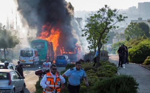 21 Israelis wounded by Palestinian terrorist's bomb on Jerusalem bus