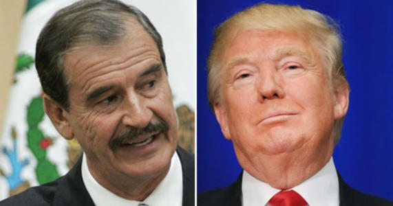Former Mexican president Vicente Fox apologizes for comments on Trump – WATCH