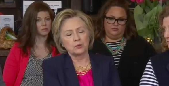 Watch: Hillary Clinton Fails Miserably In Explaining Why A Small Business Owner's Healthcare Costs Rose $500