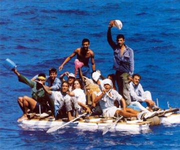 Cuban-boat-people
