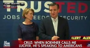 Cruz: 'When Boehner Calls Me Lucifer, He's Directing That at Americans'