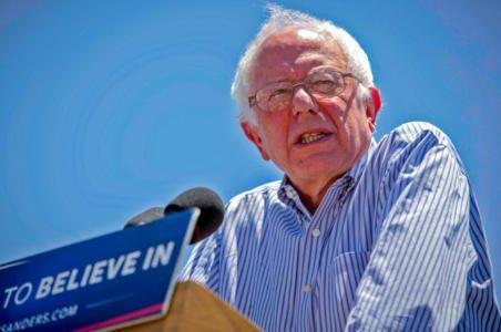 Bernie comes face to face with the Clinton Mafia