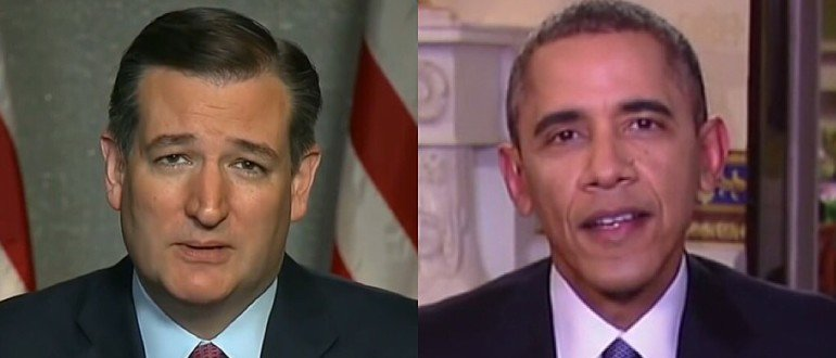 Ted Cruz May Be Out Of Presidential Race, But When it Comes to Busting Obama's Balls–Still Got Game
