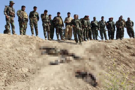 ISIS Executes 25 by Dipping Them in Nitric Acid