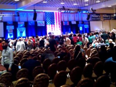 Watch: Chaos at NV Dem Convention… Team Hillary Disqualifies Bernie Delegates… Clinton, Sanders Fans Clash
