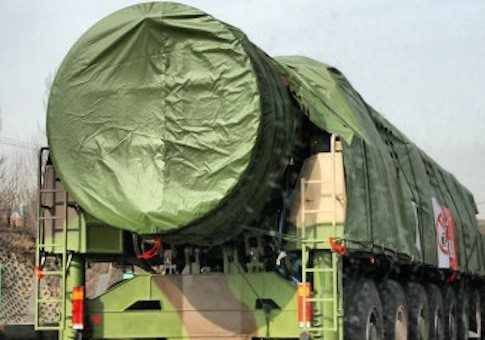 China's newest ICBM, the DF-41