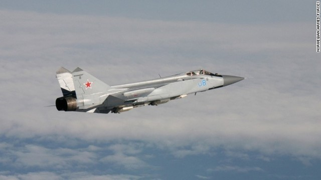 Russian planes too close for comfort