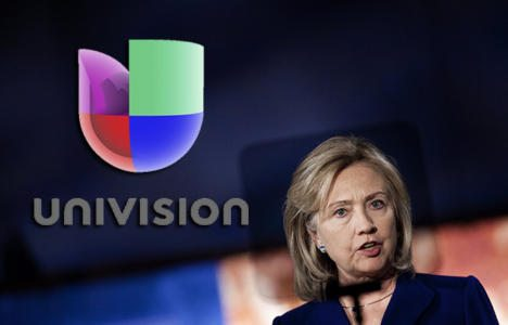 Hillary And Univision Love Illegal Immigrants, Amnesty And Sanctuary Cities