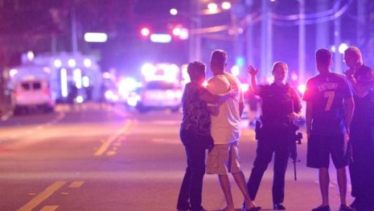 Devout Muslim SHOOTS DEAD AT LEAST 20 at Florida gay club after bursting in 'wearing a SUICIDE VEST' and TAKING HOSTAGES
