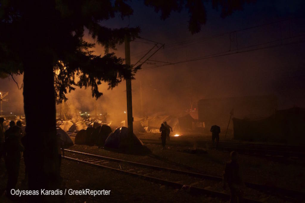 Video: Worst Muslim Migrant Riots Ever Break Out at Refugee Camp in Greece