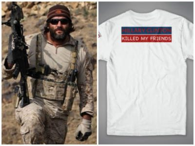 Former Navy SEAL Tej Gill: 'Hillary Clinton Killed My Friends' – AUDIO