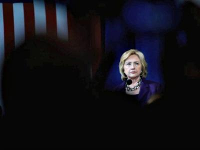 MANCHESTER, NH - NOVEMBER 29: Democratic Presidential candidate Hillary Clinton speaks at the Jefferson Jackson Dinner at the Radisson Hotel November 29, 2015 in Manchester, New Hampshire. The dinner is held annually by the New Hampshire Democratic Party. (Photo by Darren McCollester/Getty Images) *** Local Caption *** Hillary Clinton