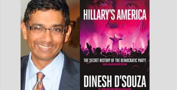 WATCH: Exclusive Dinesh D'Souza Interview About New Hillary Book and Movie
