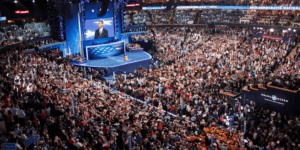 No Visible American Flags Present At The Democrat Convention