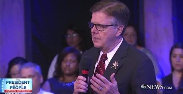 Texas Lt Gov Tells Obama Police Don't Know If He's On Their Side