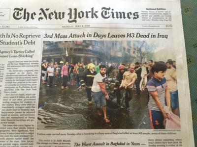Obama's Legacy: 3rd Mass ISIS Attack in Days Leaves 143 DEAD in Iraq #Ramadan