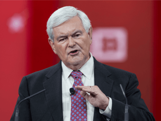 Gingrich: Hillary The 'Perfect Candidate' if You Think It's OK to Have a Corrupt Government in Washington
