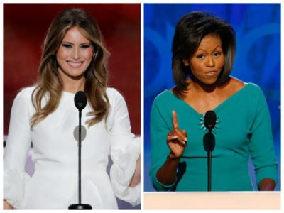 Melania Trump's Big Difference from Michelle Obama: American Pride