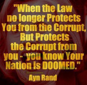 The Rule Of Law Is Dead In America