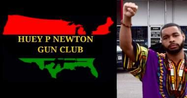 Dallas Shooter Was Member of Huey P. Newton Gun Club