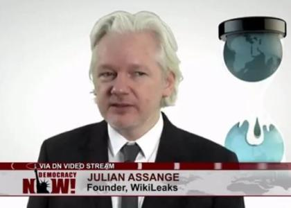 "JULIAN ASSANGE Slams ""Corrupt"" Hillary Clinton in First Interview Following Wikileaks DNC Email Release (VIDEO)"