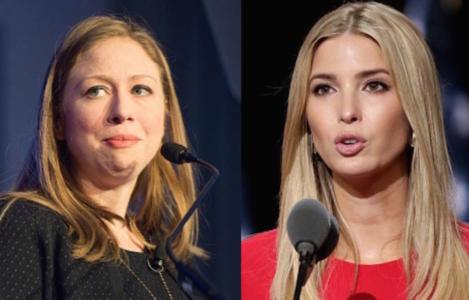 Just before she speaks, look what we CAUGHT media doing for Chelsea Clinton but not Ivanka Trump…