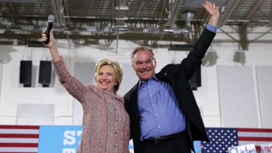 Clinton picks Kaine for VP