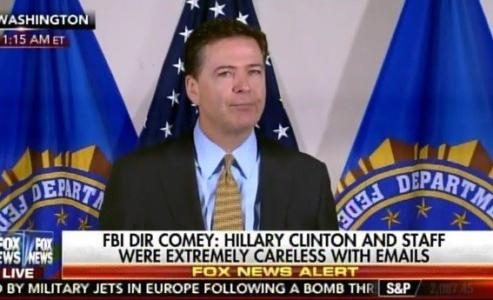 "WATCH: FBI Director on Hillary Emails: A Person Who Engaged in Similar Circumstances ""Would Face Sanctions"""