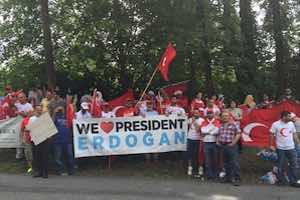 Erdogan's War Dropped on American Soil