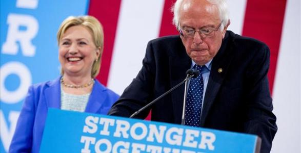 Watch LIVE: Bernie Sanders to Address DNC on a Hostile Day One
