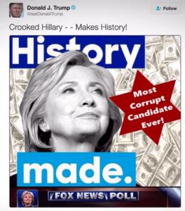 DONALD TRUMP Responds to Hillary Clinton's Ugly Anti-Semitic Smear