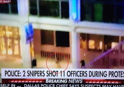 BREAKING VIDEO=> DALLAS SHOOTER FILMED FIRING ON POLICE – EXECUTING POLICE OFFICER IN DALLAS