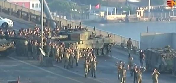 Coup d'not: Turkish military mutiny crumbles