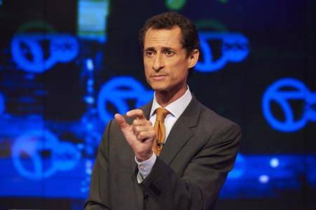 Report: Anthony Weiner Sent Lewd Image While in Bed Next to His Son