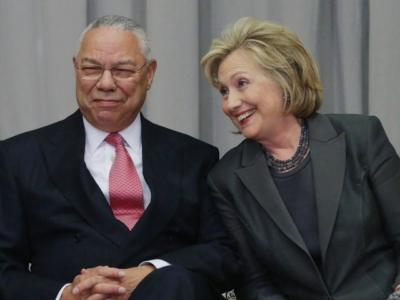 Hillary Clinton Tries to Blame Colin Powell For Her Email Disaster