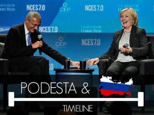 TIMELINE: Countdown to John Podesta's $35 Million Russian Deal