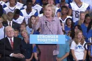Hillary vows 'we will raise taxes on the middle class'