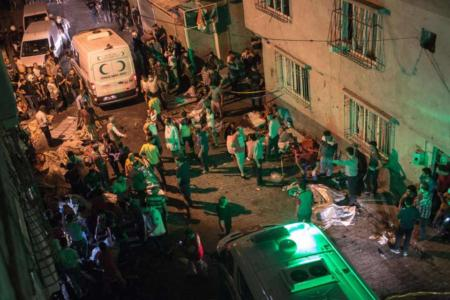 ISIS Turkey wedding bombing: 22 killed and 94 injured after suicide bomb attack
