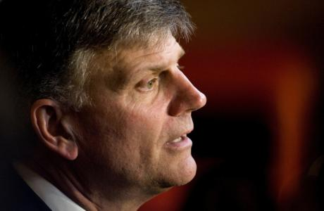 Franklin Graham: Allowing Muslim Refugees Would Risk Christians' Security in US