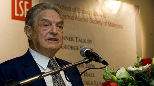SOROS'S CAMPAIGN OF GLOBAL CHAOS