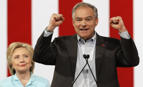 VP pick Kaine's troubling ties to Islamic groups