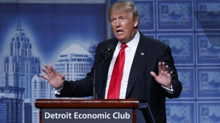Donald Trump Full Economic Plan Speech in Detroit, Michigan – FULL VIDEO