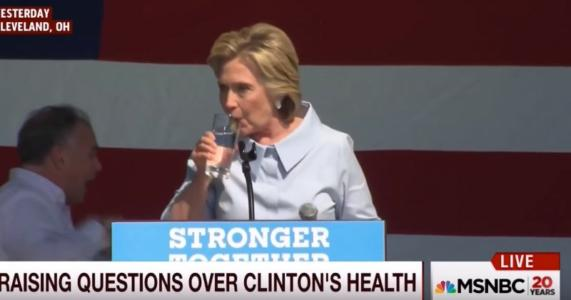 Hillary's Health Hypocrisy
