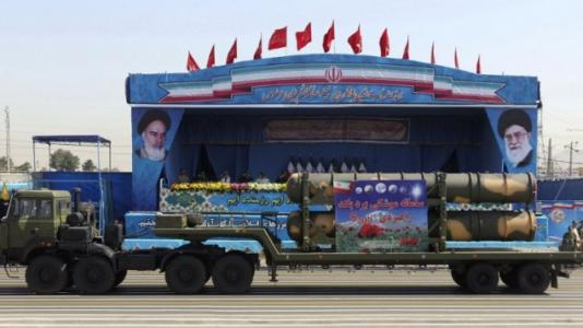 Iran shows off missiles targeting Israel