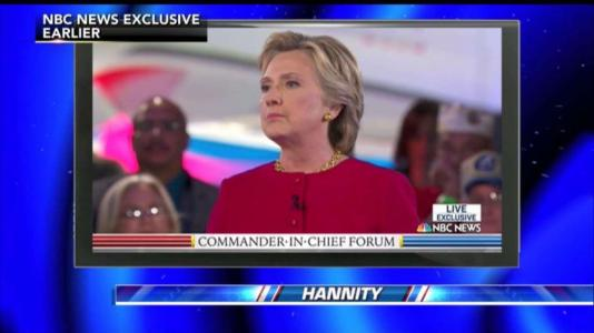 Election HQ Hannity on 'THE Moment' of the Commander-in-Chief Forum