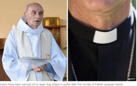 Islam in the West: Priests told 'don't wear collars in public' over fears jihadis are planning attacks