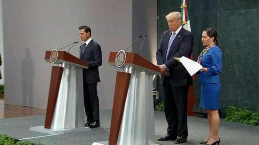 Donald Trump – The First Presidential Candidate in U.S. History to Visit Mexico and Discuss the Immigration Crisis – VIDEO