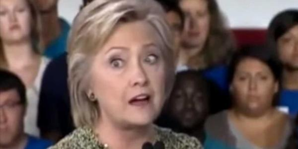 Is Something Wrong With Hillary Clinton's Eyes?!? – VIDEO