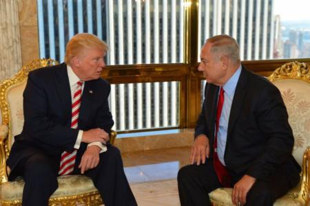 Trump tells Netanyahu he'll recognize undivided Jerusalem if president