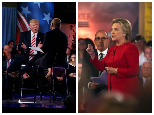 Donald-Trump-Hillary-Clinton-NBC-Forum-AP